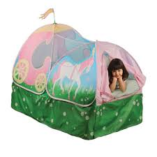 up princess carriage bed tent