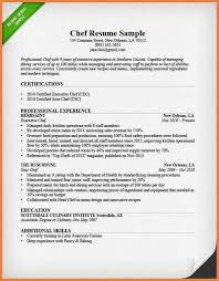 doc 500647 chef resume cover letter u2013 esl home work ghostwriters