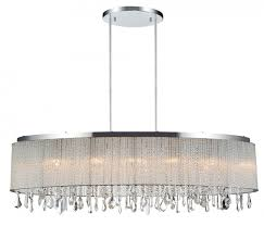 Crystal Drum Shade Chandelier World 5562p38c O Clear Benson 5 Light Drum Shade Chandelier In Chrome
