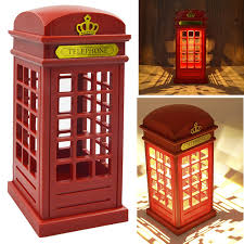 Vintage British Home Decor by Amazon Com Vintage London Telephone Booth Designed Usb Charging