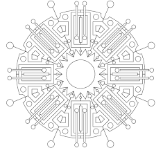 Free Printable Geometric Coloring Pages For Adults Coloring Pages Shapes