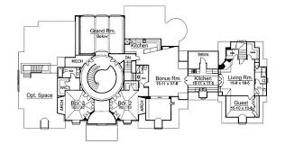 chateau floor plans country chateau 12192jl architectural designs house plans