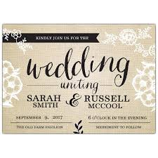 burlap wedding invitations fancy burlap wedding invitations paperstyle