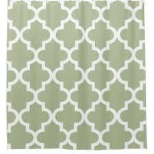 sage pattern shower curtains zazzle