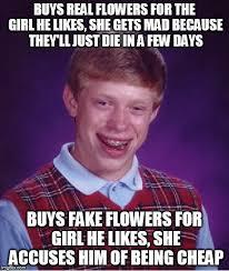 He Mad Meme - bad luck brian meme imgflip