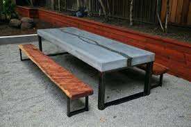 concrete table and benches price concrete table and benches price garden easy pieces outdoor