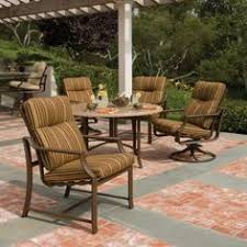 stoneworks tables by tropitone are durable hand finished patio