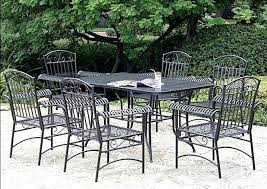 Black Metal Chairs Outdoor Patio Ideas Outdoor Patio Table And Chairs Cover Patio Table And