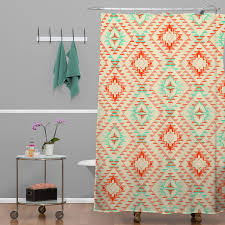 Deny Shower Curtains Tile Tribe Southwest Shower Curtain Pattern State For Deny