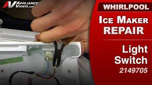 whirlpool ice maker red light flashing whirlpool gi15ndxxq ice maker appliance video