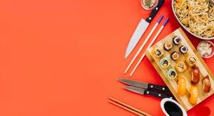 ustensiles cuisine japonaise couteaux cuisine vecteurs et photos gratuites