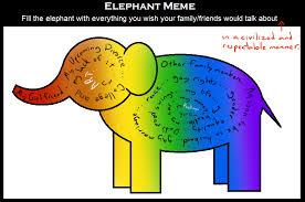 Elephant Meme - elephant meme by shrineheart on deviantart