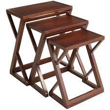 zano brown nesting tables pier 1 imports