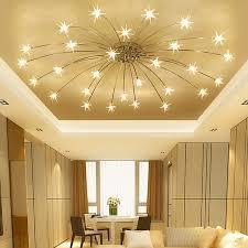 chambre ciel étoilé moderne minimaliste led salon de plafond les chambre plafonniers
