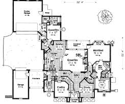 european style house plan 4 beds 4 5 baths 3769 sq ft plan 310