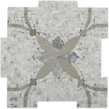 splashback tile garden butterfly marble mosaic tile 3 in x 6 in