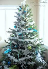 Blue And Silver Christmas Tree - lime green and silver christmas tree rainforest islands ferry