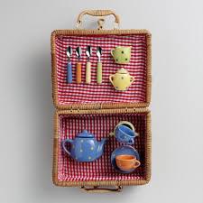 kids picnic basket large kids picnic basket world market