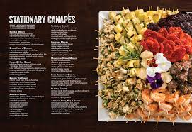 hors d oeuvre menus between the bread catering events