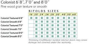 Bifold Closet Door Sizes Bifold Closet Door Dimensions Dandk Organizer