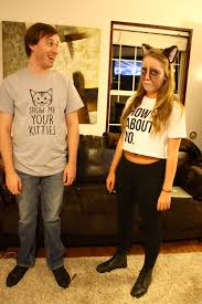 grumpy cat and my biggest fan creative couples costumes for