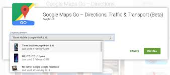 Google Maps Directions Link Update Now Available For Everyone Google Maps Go Beta Expands To