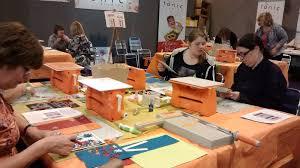 inside the artists shed nec art u0026 crafts fair