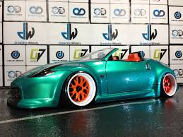 nissan 370z custom rims 370z oak man designs