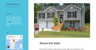 house site build a site to help sell your house tutorial u2014 support