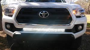 2017 tacoma light bar 32 led light bar mounts stealth and flush for 3rd gens page 12