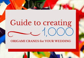 japanese wedding backdrop wedding traditions explained 1000 paper cranes