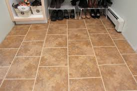how to install s new bathroom floor tile and snap together tile