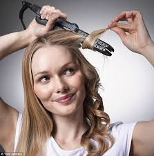 how to make flicks with a hair straightener how to curl hair with straighteners follow our step by step guide