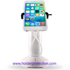 comer retractable cable locker cellphone alarm stand for retail