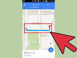 Draw A Route On Google Maps by How To Get Walking Directions On Google Maps 12 Steps