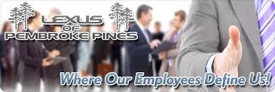 lexus pembroke pines meet our departments lexus of pembroke pines