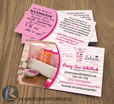 Hit The Floor Online - pink zebra business cards style 5 kz creative services online