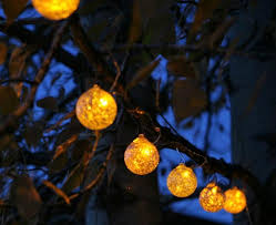 low voltage string lights garden globe solar string lights the gardener s eden