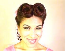 easy vintage y updo with snood youtube