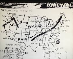 Weather Map New Orleans by Paddle8 Editorial 8 Artists Vik Muniz Has Aped