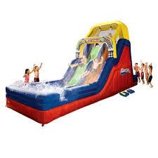 Inflatable Pool Target Amazon Com Double Drop Raceway Pool Toys U0026 Games