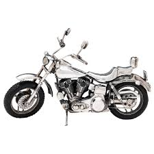 sterling silver harley davidson motorcycle at 1stdibs
