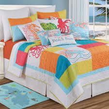 coastal life coral beach bedspreads comforted bedspreadss com