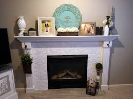 naughton your life fireplace makeover with tin tile