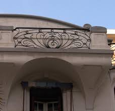 art deco balcony balcony