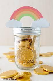 pot of gold a st patrick u0027s day mason jar gift idea