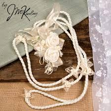 wedding lasso budget lazo ivory lazo with flower detail wedding lasso lazo de