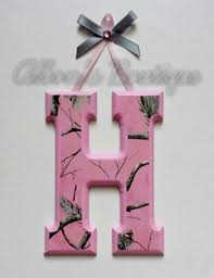 realtree camo ribbon not diy pink realtree camo wooden wall letters by