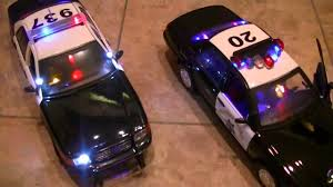 playmobil lamborghini lapd police car and chp unit lights sirens engine detail and