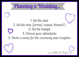 steps to planning a wedding planning a wedding and silver workout me big d